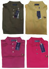 Ralph Lauren Purple Label Mens Equestrian Logo Tailored Slim Fit Polo Knit Shirt