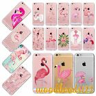 Flamingos TPU Case Cover For iPhone 6 6s Plus 4s 5s SE Clear Soft Nature Pattern
