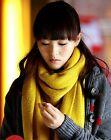 Must have comfortable warm acrylic knit long scarf assorted color