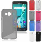 S-Line Wave TPU Silicone Soft Gel Case Cover For Samsung Galaxy J3 (2016)