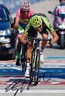 Ryder Hesjedal Autographed Signed 8X12 inches 2015 GIRO Cannondale-Garmin Photo