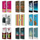 HEAD CASE MIX CHRISTMAS COLLECTION LEATHER BOOK CASE FOR SAMSUNG GALAXY S7 EDGE