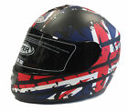 VIPER RS-44 RS-250 UNION TRACK JACK MOTORCYCLE HELMET, OPTION DARK/IRIDIUM VISOR