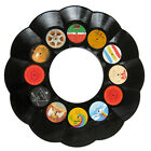 LP Record Recycled Vinyl Wall Mirror - Bar Pub Decor - Choose Rock Jazz or Soul!