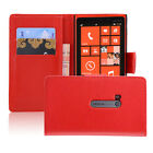 NEW PU LEATHER WALLET CASE COVER For Nokia Lumia 920 + SCREEN PROTECTOR & STYLUS