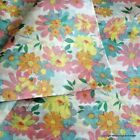 Vibrant Floral Patterned Tissue Paper - Premium Quality Wrap 5 or 10 sheets