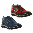 North Face Hedgehog Fastpack Lite GTX Mens Red Blue Waterproof Goretex Size 8-13