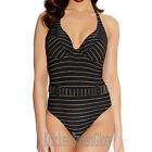Freya Rock The Beach Swimsuit/Swimming Costume Black/Gold 3698 NEW Select Size