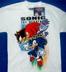 Sonic the Hedgehog T-Shirt 10 12 14 16 18 Child New Shadow Knuckles Blaze M L XL