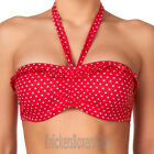 Freya Swimwear Pier Bandeau Bikini Top Lollipop Red 3020 NEW Select Size