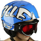 BOLLE KIDS/YOUTH GOGGLE & PROTECTIVE HELMET COMBO PACKAGE - BLUE OR RED 53-57cm