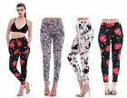 New Women's Ladies Printed Pocket Floral Trousers size 8-14