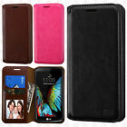 For LG Premier LTE Premium Wallet Case Pouch Flap STAND Cover +Screen Protector