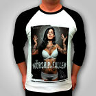 MENS NEW RAGLAN FASHION TATTOO T SHIRT SEXY CLUB FASHION DEATH BY JERSEY
