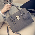 fashion Korean Women Ladies Shoulder Handbag Bag Tote Purse Nubuck Messenger Bag