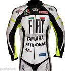 FIAT Blue or White R1 125 Rossi Rep Biker Leather Motorcycle Motorbike 1 Pc SUIT