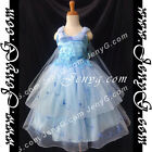 #PBB9 Flower Girls Wedding Junior Bridesmaid Pageant Party Recital Dresses Gowns