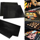 Lot of 2 Mats Easy BBQ Grill Mat Bake NonStick Grilling Mats As Seen On TV New