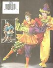 Butterick 3598 Cirque Pierot Clown sewing pattern costumes Unisex size XS S