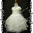 #SPI7 Baby Infant Christening Baptism First Holy Communion Birthday Gown Dress