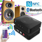 RCA 3.5mm AUX Speaker USB NFC Bluetooth Stereo Audio Music Receiver Adapter Mic