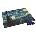 Starry Night by Vincent Van Gogh - Tempered Glass Cutting Board
