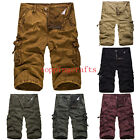 Korean Summer New Casual Fashion Men In Camouflage OverallsTide Wash Sand Shorts