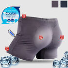 Mens Hip Up Padded Underwear Drawers Volume Up Shaper Cool Drying Panty Boxer