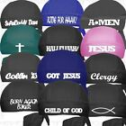 Religion-Christian Jesus Do Skull Cap Church Du Rag Doo Hat Head Wear Gear Pray