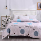 100% Cotton Quilt/Doona Cover Set /Sheet Set/Fitted/Flat/Pillowcases Duvet Cover