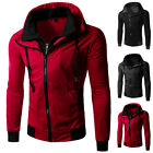 New Men's Outdoor Slim Hoodie Warm Hooded Sweatshirt Coat Jacket Outwear Sweater