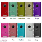Brushed Gel TPU Skin Case Cover for Nokia Lumia 830
