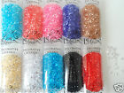 Diamond Acrylic Jewell Crystals For Displays Craft Vases Various Colours New UK