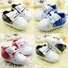 Baby Boys Girls Infants Sneaker Soft Sole Crib Shoes Size Newborn to 18 Months