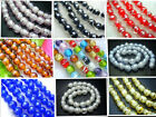 10MM New Lampwork Glass Round Loose Beads 35PCS GR105A