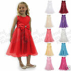 Kids Flower Girl Dress Bridesmaid Dress Christening 2-13Y Last few left Bargain