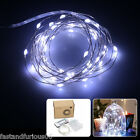 Led Starry String Light Copper Wire Lights Set Dimmer for In/Outdoor Decorations