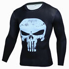 Men Superhero Marvel Costume Cycling T-Shirts Long Sleeve Sports Bicycle Jersey