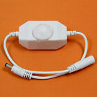 For LED Single Color Light Strip 12V Manual Dimmer Brightness To DC Adapters