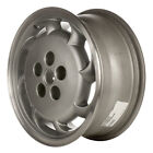 OEM Reman 16x7 Alloy Wheel, Rim Sparkle Silver Painted with Flange Cut - 6043