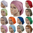 Muslim Hat Stretchy Modal Turban Full Cover Inner Hijab Caps Islamic  Headwrap