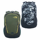 The North Face Vault Mens Womens Black Camo Green Backpack Bag