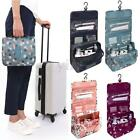 Travel Luxury Ladies Toiletry Wash Bag Cosmetic MakeUp Hanging Folding Organizer