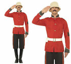 Zulu Welsh Guard Boer War Costume Mens Soldier Wartime Fancy Dress Sizes M,L