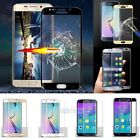 Full Cover Tempered Glass Curved Screen Protector For Samsung Galaxy S6 S7 Edge