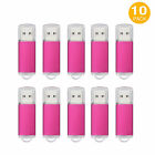 10PCS/Lot 1GB-32GB Rectangle Blank Media High Speed Memory Stick USB Flash Drive