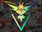 Pokemon Go Team Instinct Decal TEAM INSTINCT, MYSTIC, VALOR LAPTOP CELL PHONE