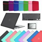 """4in1 Rubberized Hard Case+Key Skin+LCD+Sleeve For Macbook AIR 13"""" PRO 13 Retina"""