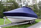 CUSTOM+BOAT+COVER+Carolina+Skiff+218+DLV+w%2FT%2DTOP+Single+Motor+low+rails