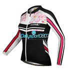 2017 New Women Cycling Bike Bicycle Riding Long Sleeve Jersey Shirt Jacket DS